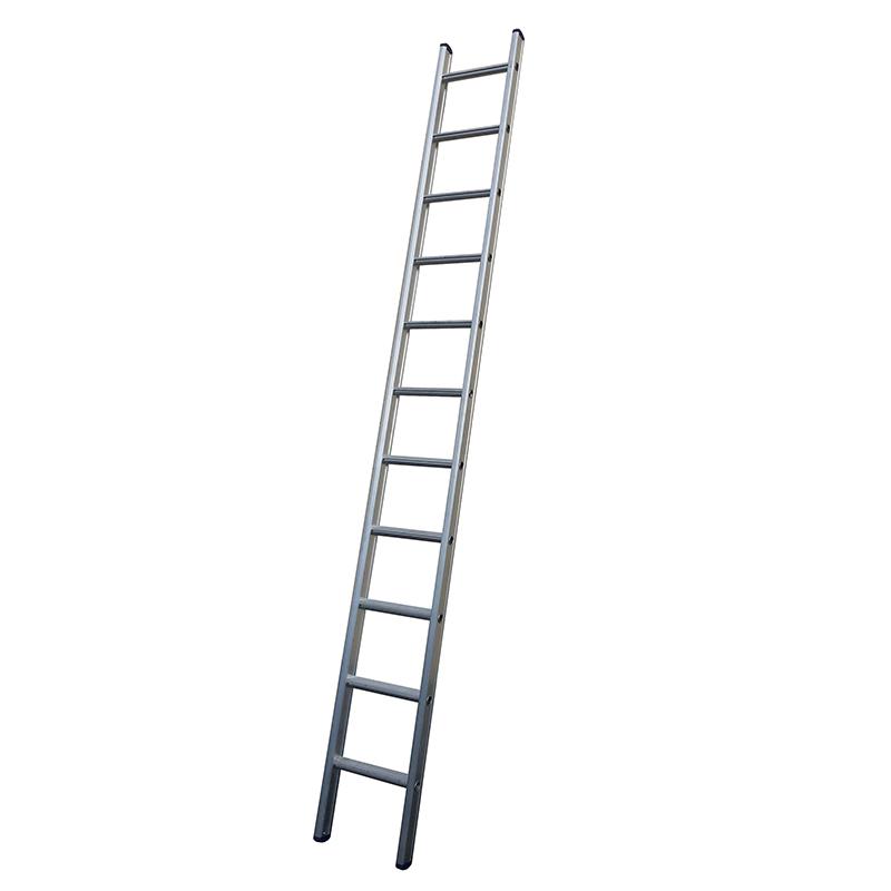 Maxall Enkele Ladder 1 X 6 RECHT. Lengte = 1,75 Mtr