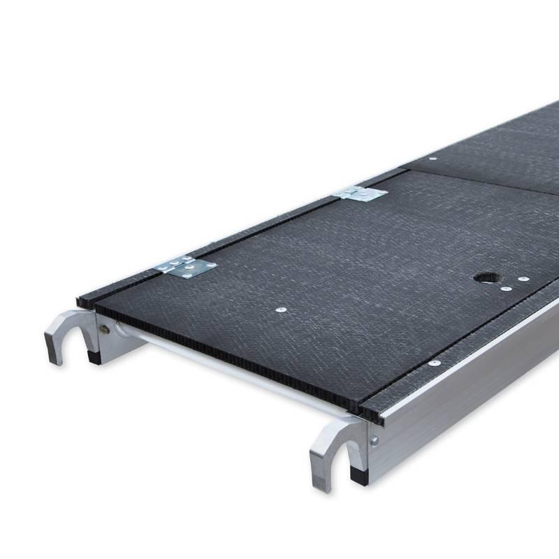 Carbon Deck (lichtgewicht) Platform Met Luik 190cm