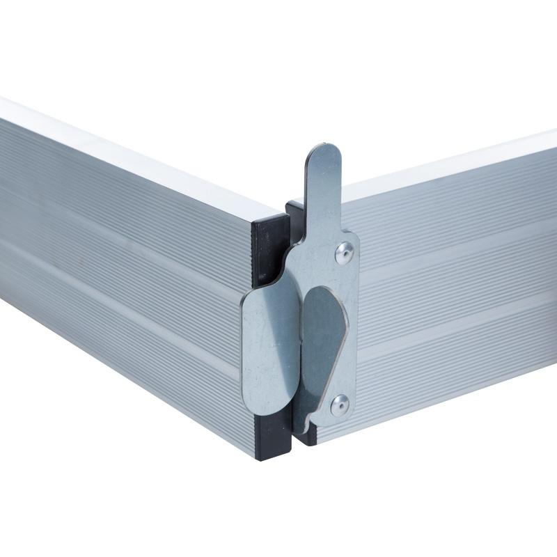 Aluminium Kantplankenset 75 X 190 Cm