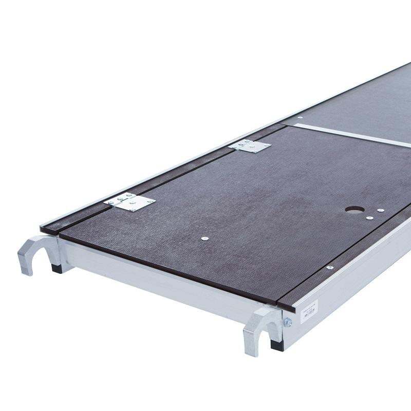 rolsteiger platform met luik