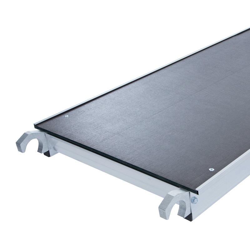 steiger platform zonder luik