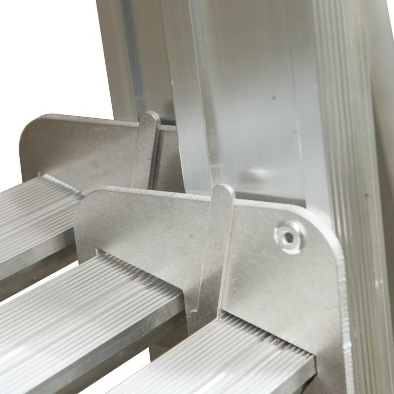 treden drieldelige ladder