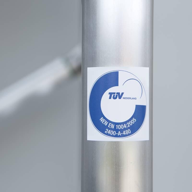 TÜV certificaat euroscaffold