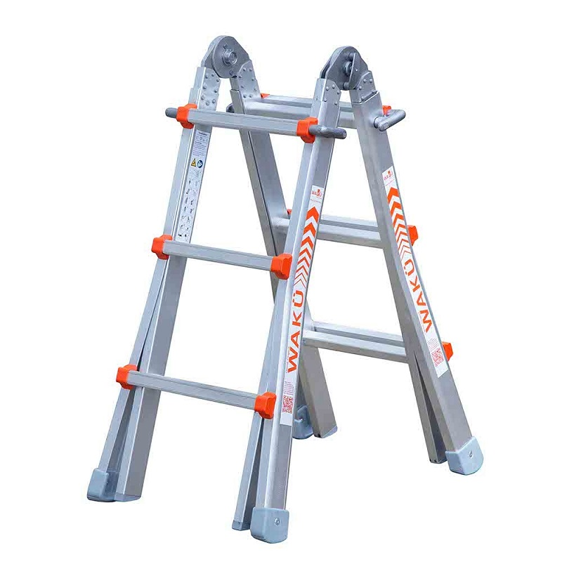 WAKÜ 4×3 Multifunctionele Ladder